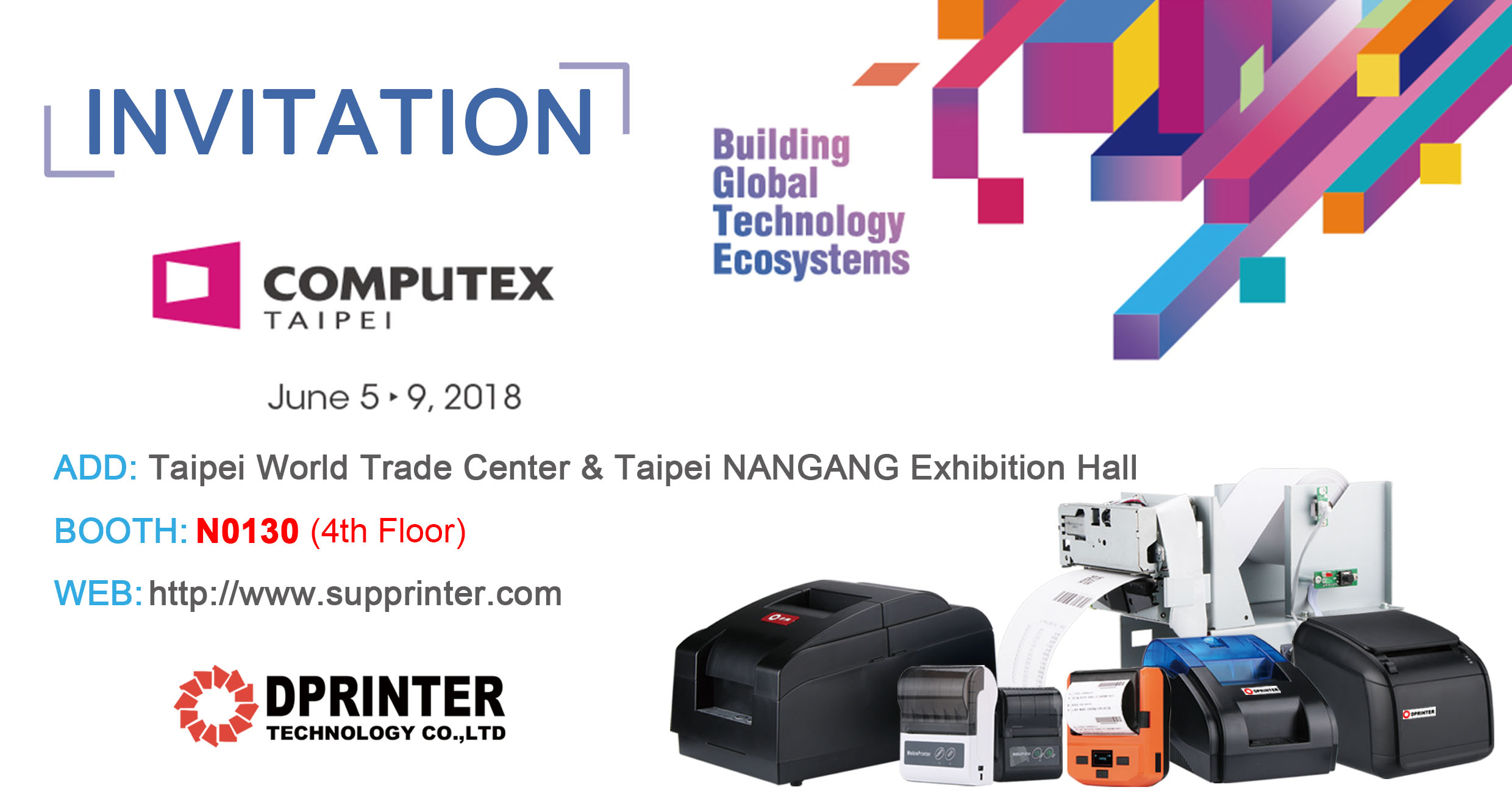COMPUTEX 2018 in TAIPEI - Dprinter